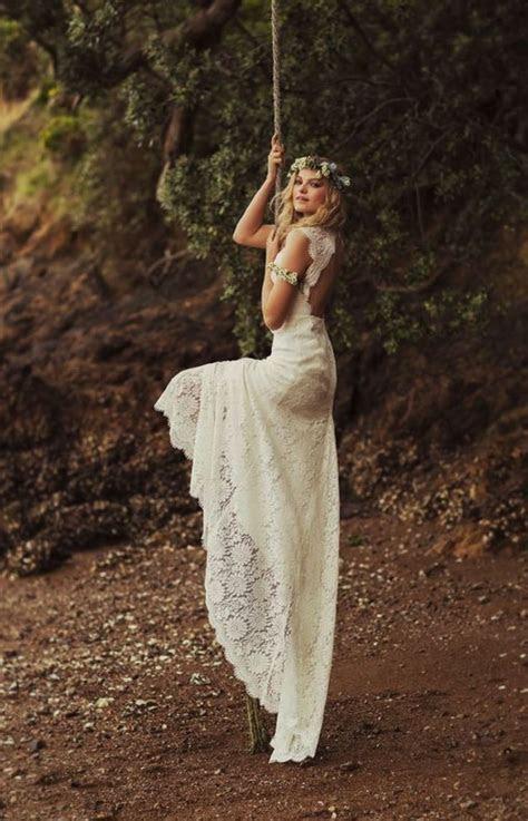 13 beautiful boho wedding dresses for the laid back bride