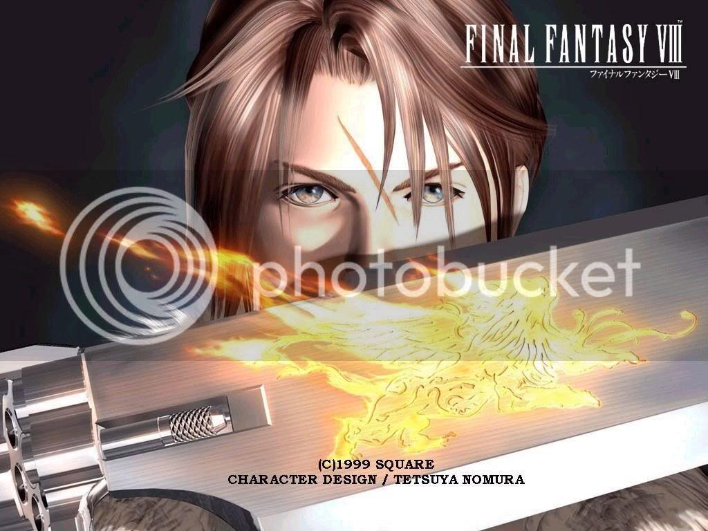 Squall Lionheart Final Fantasy VIII Wallpaper