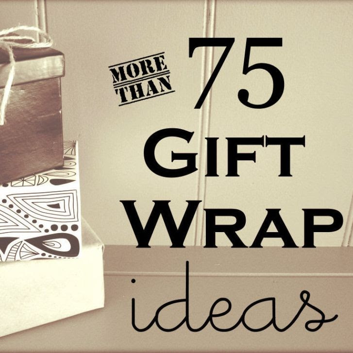 Older And Wisor Gift Wrapping Ideas