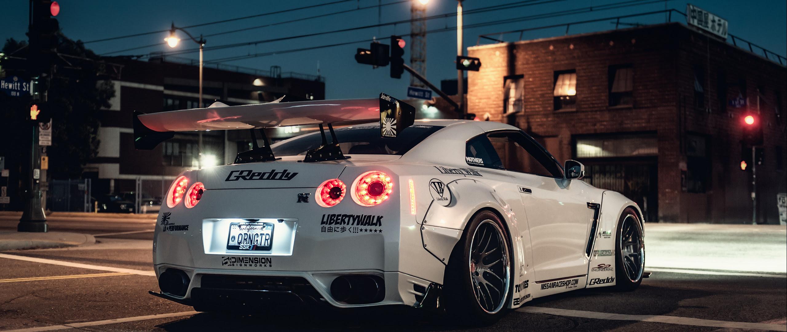 ultra wide, Car, Nissan Skyline GT R Wallpapers HD ...
