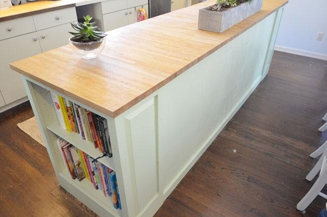 A dream kitchen island makeover with help from the Habitat ...