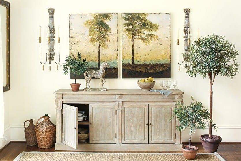 Custom Soliloquy Art by Ballard Designs