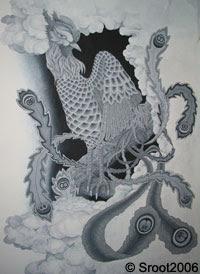 Chinese Phoenix Tattoos on Chinese Tattoo   Yin Yang  Phoenix  Dragon  Chinese Symbol Tattoos
