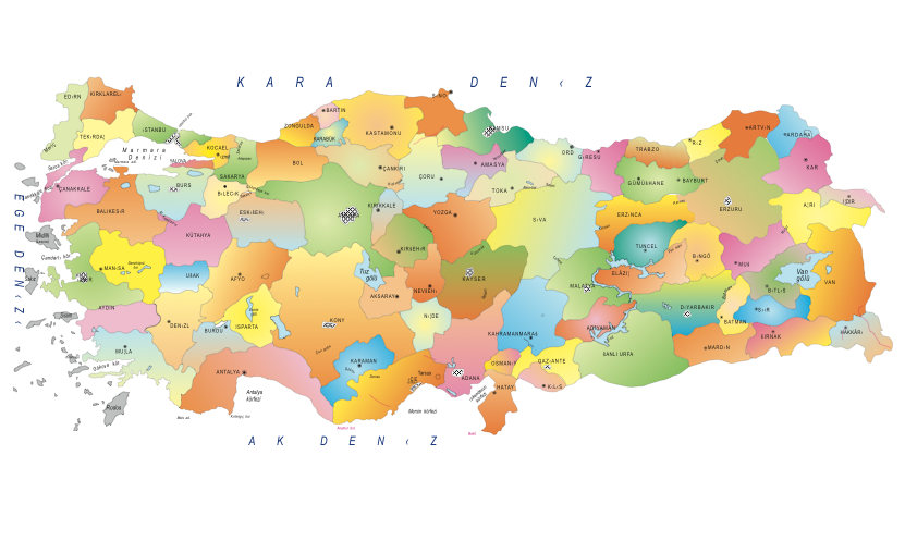Blog Türkiye Haritası