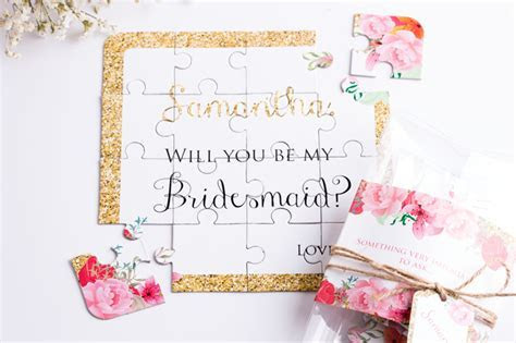 "30 Fun and Creative Ways to Ask ""Will You Be My Bridesmaid"