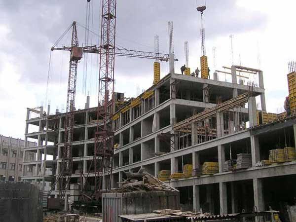 Возведение многоэтажного дома