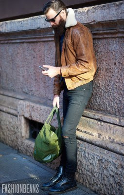Anonymous, Photographed in Milan<br/> Click Photo To See More