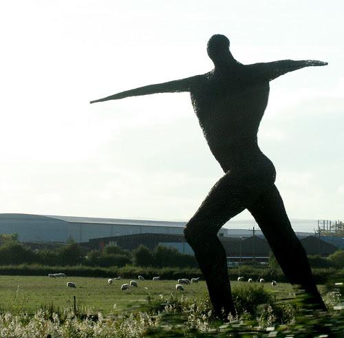 M5 wicker sculpture