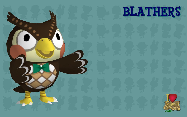 Blathers Animal Crossing New Leaf Wallpaper 38288059 Fanpop