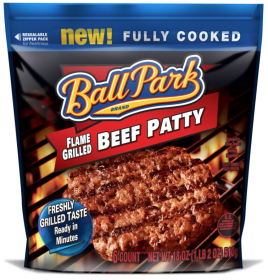 Ball Park Flame Grilled Patty Ball Park Flame Grilled Beef Patty $2 off 1 Coupon