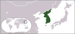 Lokasi Korea