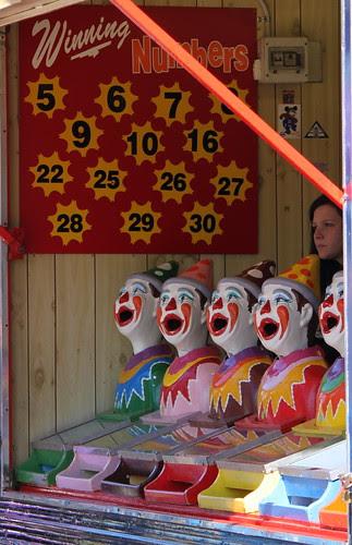 Clown faces