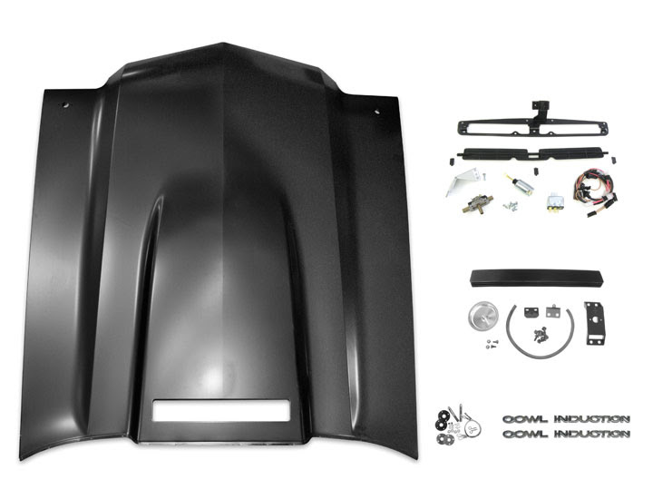 1970 1972 Chevelle Cowl Induction Hood Kit