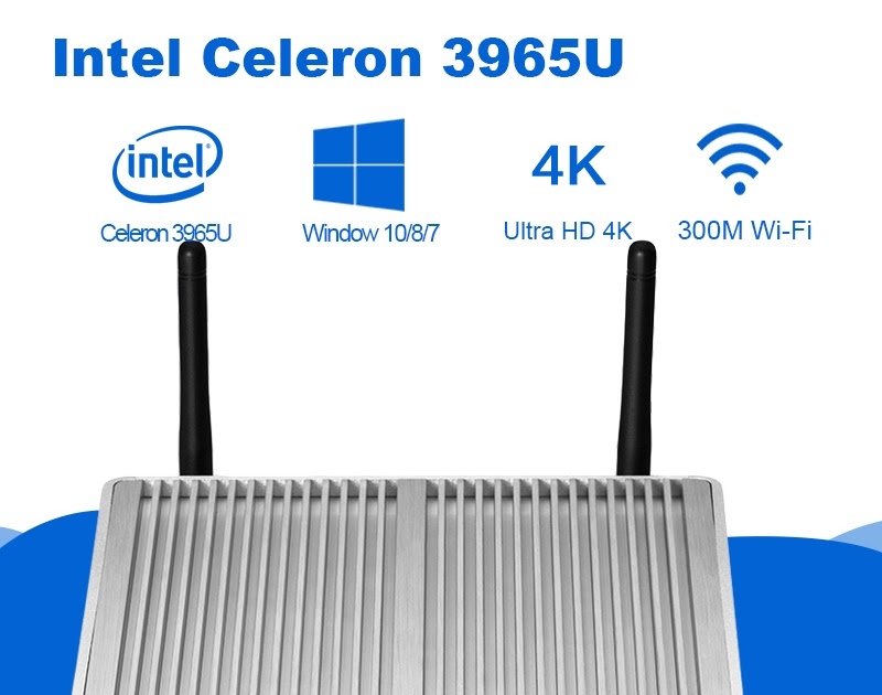 Comprar Mini PC Intel Celeron 3965U 4 K UHD HD Graphics 610