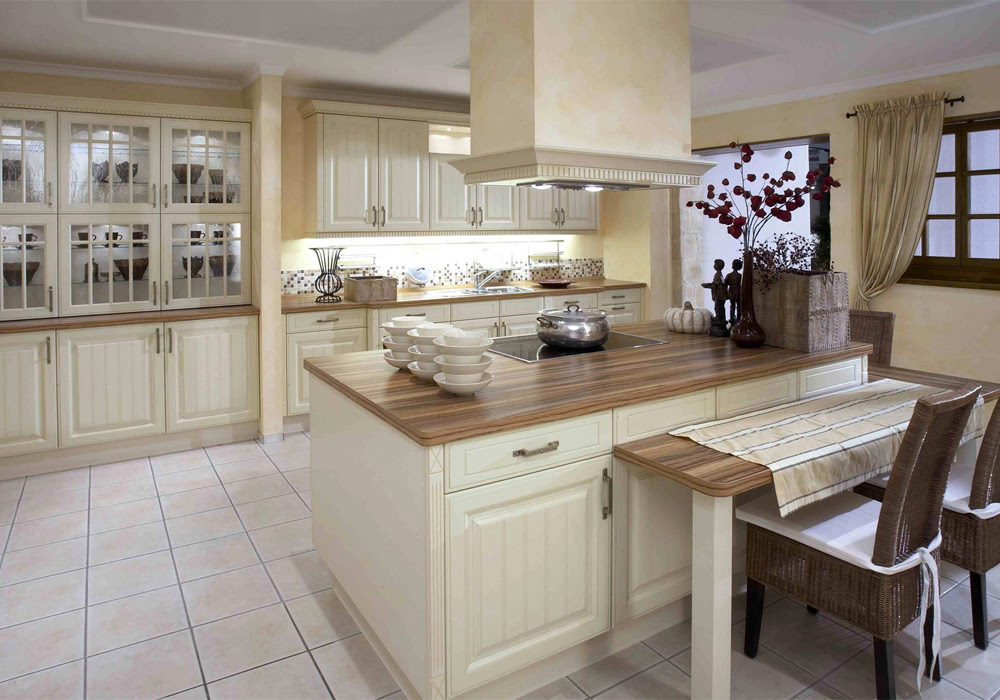 Modern Design PVC Thermofoil White Color Kitchen Cabinets ...