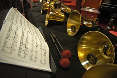 New England Ringers is a 15-member community handbell ensemble
