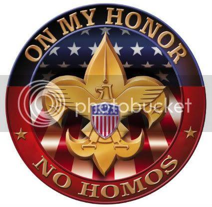 Boy Scouts No Homos CFC Original