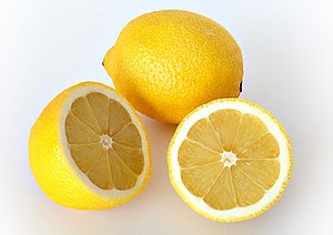 The rind of a lemon is exceptionally bitter, w...