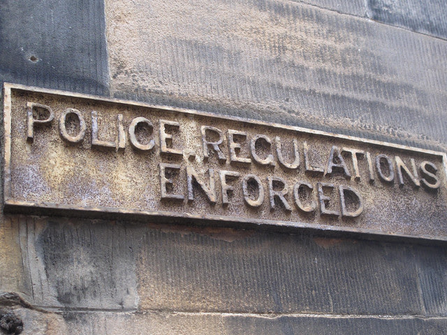 Police Regulations Enforced