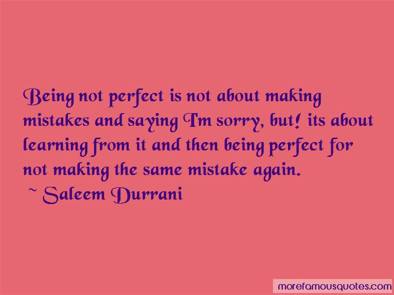 Quotes About Being Not Perfect Top 46 Being Not Perfect Quotes From