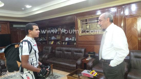 محافظ كفر الشيخ يستقبل أمير -اليوم السابع -4 -2015