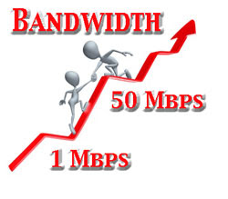 Discover your copper and fiber bandwidth options.