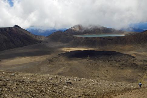 Central Crater & Blue Lake, Tongariro National Park, New Zealand