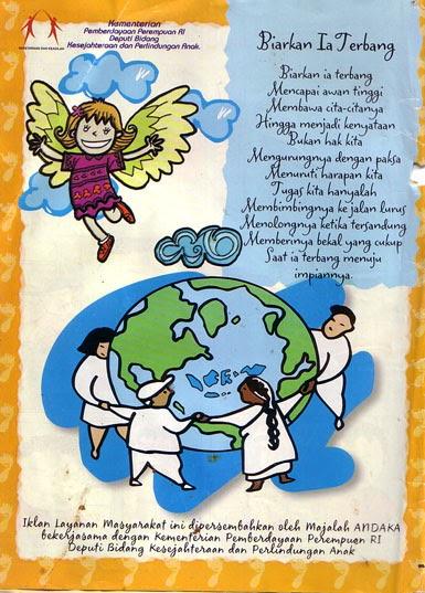 Contoh Gambar Poster Banjir - Contoh Lem