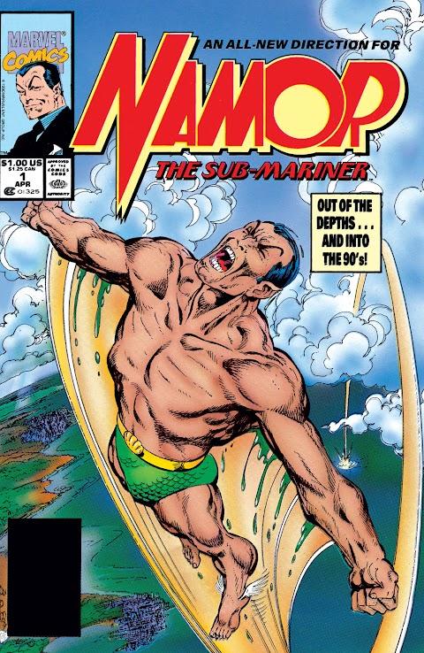 Marvel Comics Namor The Submariner
