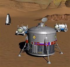 Mars Direct at Vallis Dao