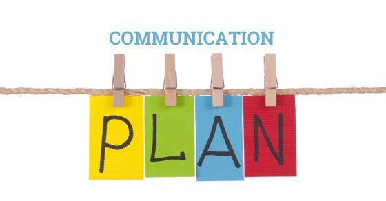 Image result for communication plan