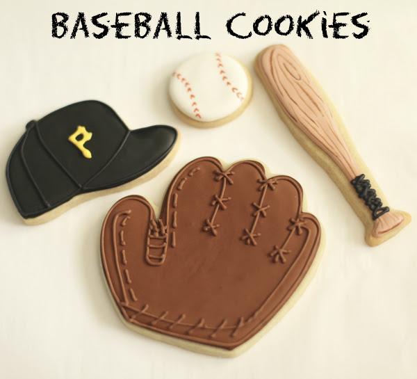 pirates baseball cookies 2