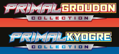 Primal Kyogre and Primal Groudon Collections