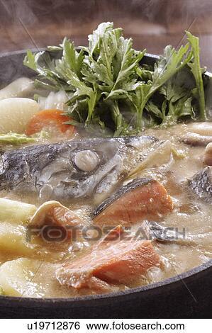 Colección de imágen - Ishikari-nabe. Fotosearch - Buscar fotos e imágenes y fotos Clip Art