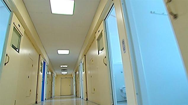 Un couloir de l'Institut Philippe-Pinel, à Montréal (archives)