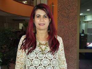 Delegada Gleide Ângelo (Foto: Luana Bernardes/ TV Grande Rio)