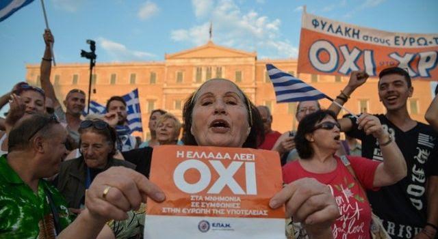 La manipolazione mediatica del referendum greco