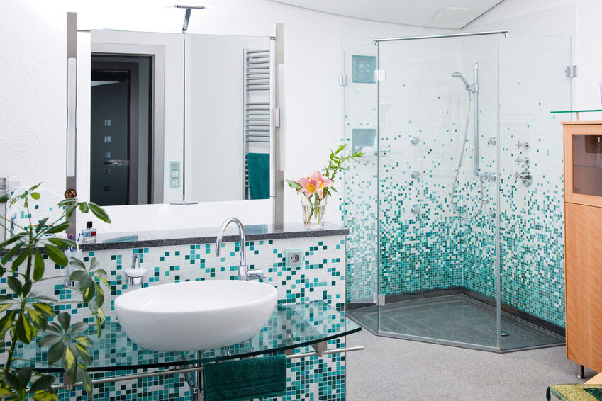 How to Decorate Your Bathroom with Mosaic Tiles   eBay
