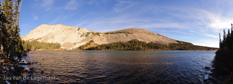 Lake Mitchell panorama