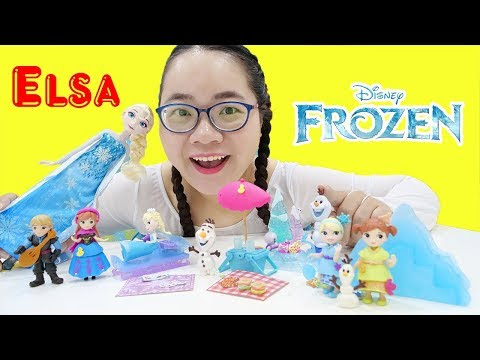 Bộ Sưu Tập Đồ Chơi Nữ Hoàng Băng Giá Elsa Của Chị Cà Chua