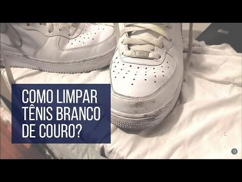 ec4a68b68d9 Macho Moda - Blog de Moda Masculina  Como Limpar Tênis Branco de Couro   MachoModa TV  31