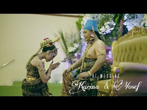 Wedding Jawa Karina & Yosef (Pemberkatan, Resepsi) Jasa Video Wedding Cinematic Jogja
