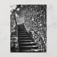 Barbican Steps, Plymouth postcard postcard