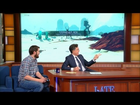 شاهد فيديو لعب No Man's Sky فى برنامج The Late Show With Stephen Colbert