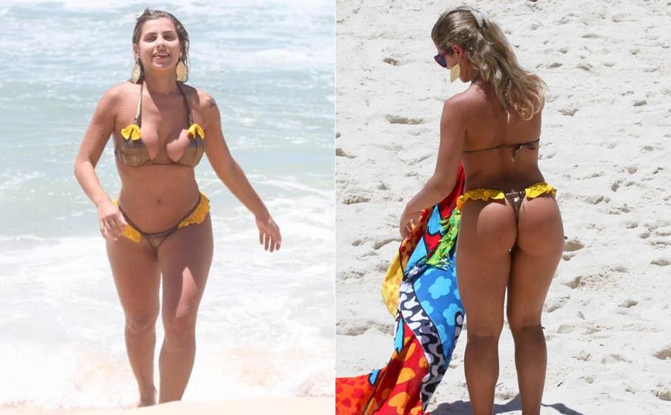 Você acha que musa do Corinthians Ana Paula Minerato usou o menor biquíni do verão? Vote!