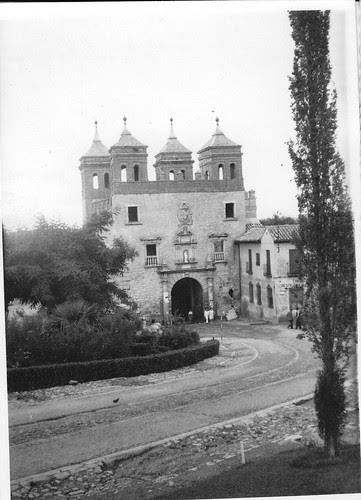 Puerta del Cambrón en junio de 1962. Fotografía de Eduardo Butragueño Bueno