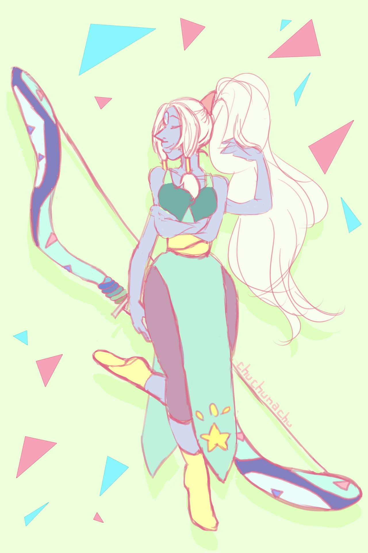 im not gonna finish this, but here's my darlin opal :')