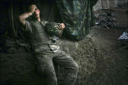 Soldato americano in Afghanistan