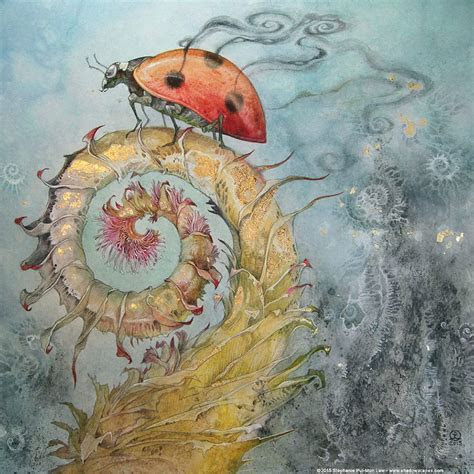Fairytales And Dreams In Watercolor Paintings By Stephanie