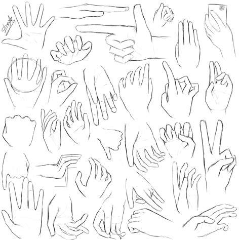 hands practice  deaththebunny  deviantart